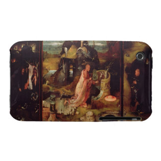 Altarpiece of the Hermits (oil on panel) iPhone 3 Case