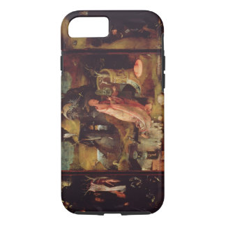 Altarpiece of the Hermits (oil on panel) iPhone 7 Case
