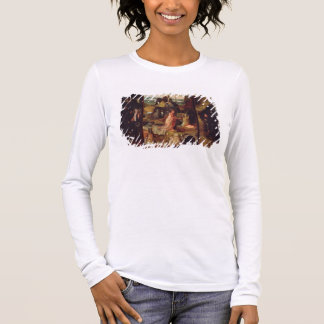 Altarpiece of the Hermits (oil on panel) Long Sleeve T-Shirt