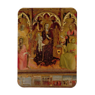 Altarpiece of the Madonna of the Snow, c.1430-32 ( Rectangular Photo Magnet