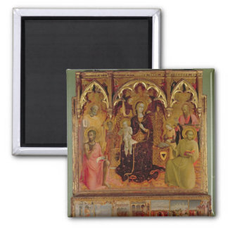 Altarpiece of the Madonna of the Snow, c.1430-32 ( Square Magnet