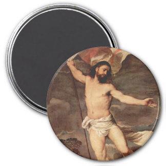 Altarpiece of the Resurrection 7.5 Cm Round Magnet