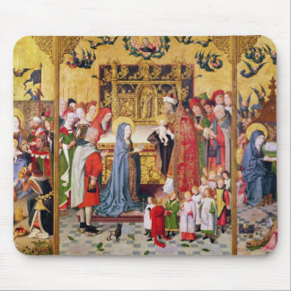 Altarpiece of the Seven Joys of the Virgin Mouse Pad