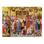 Altarpiece of the Seven Joys of the Virgin Postcard