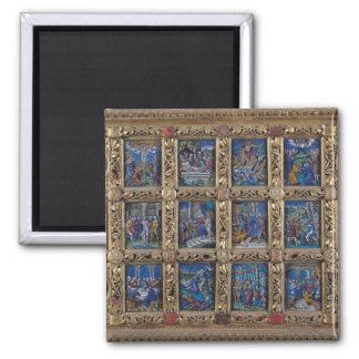 Altarpiece Square Magnet