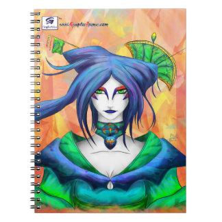 AltDelta : Blue Geisha Notebook