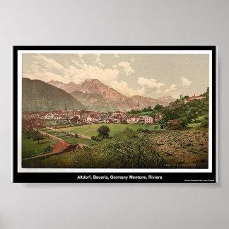 Altdorf, Bavaria, Germany Poster