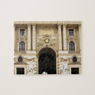 Alte Hofburg in Vienna photo Jigsaw Puzzle