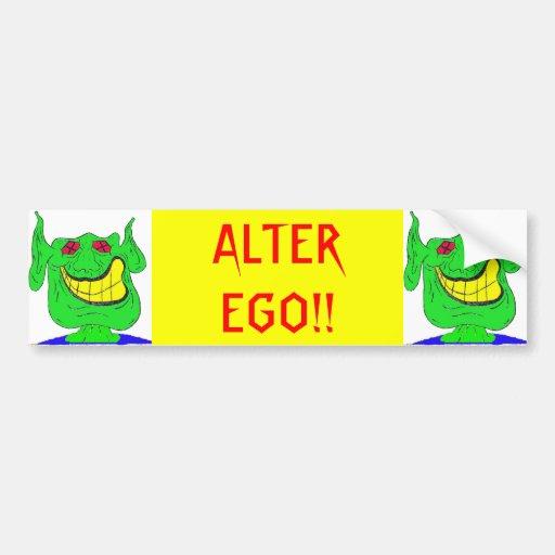 ALTER EGO!! BUMPER STICKER