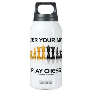 Alter Your Mind Play Chess (Reflective Chess Set)