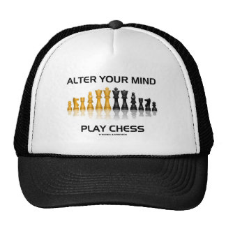 Alter Your Mind Play Chess (Reflective Chess Set) Trucker Hat