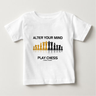 Alter Your Mind Play Chess (Reflective Chess Set) T-shirt