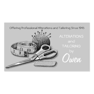 Alterations, Tailor Pack Of Standard Business Cards