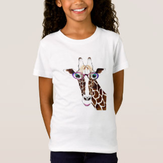 Altered Art Funky Giraffe Shirt
