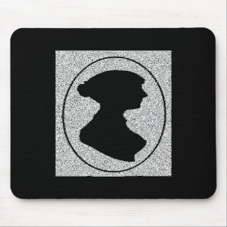 Altered Jane Ausetn silhouette Mousepads