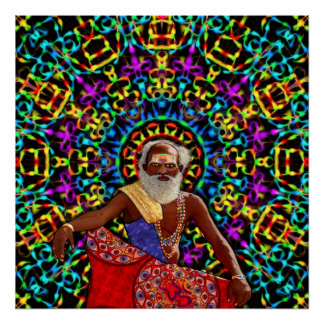 Altered Perceptions of a Holy Man Posters