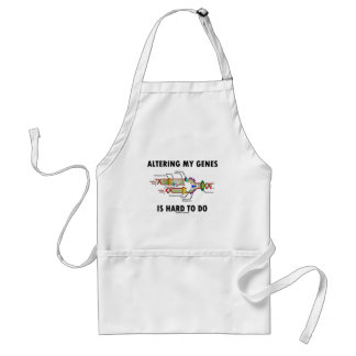 Altering My Genes Is Hard To Do (DNA Replication) Standard Apron