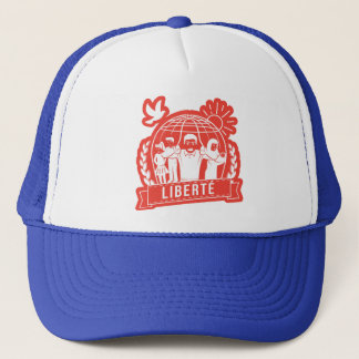 ALTERMONDIALISME LIBERTÉ/FREEDOM - FRANCE TRUCKER HAT