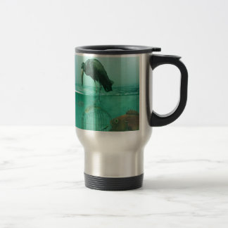 alternate dimension stainless steel travel mug