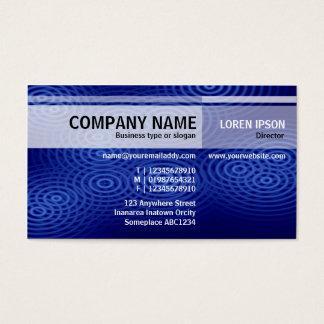 Alternate Tones - Electric Rain (Blue) Business Card