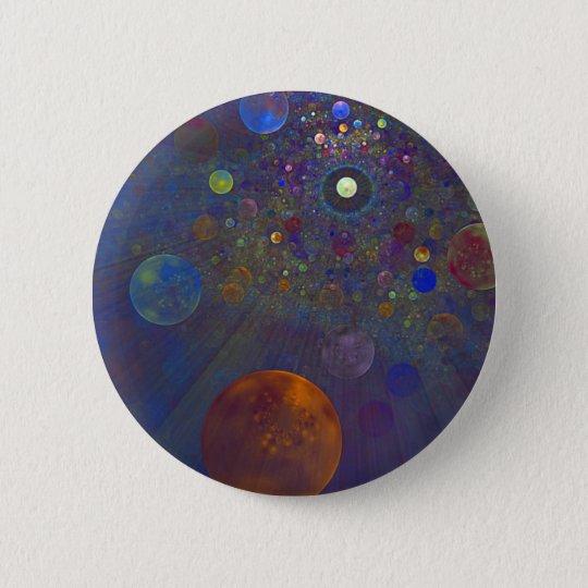 Alternate Universe Abstract Art 6 Cm Round Badge