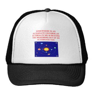 alternate universe phsics joke mesh hat