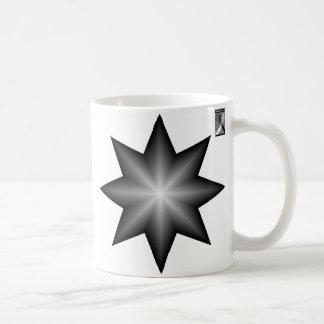 Alternating Brightness Star Coffee Mug