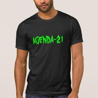Alternative Apparel Basic T-Shirt w/ Agenda-21