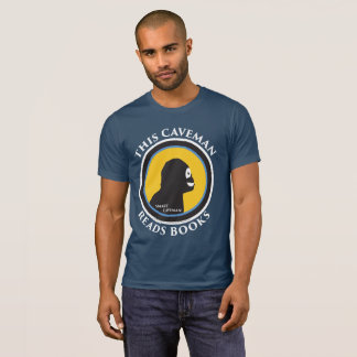 Alternative Apparel T-Shirt: Read Smart Caveman T-Shirt
