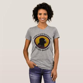 Alternative Apparel T-Shirt: Read Smart Cavewoman T-Shirt