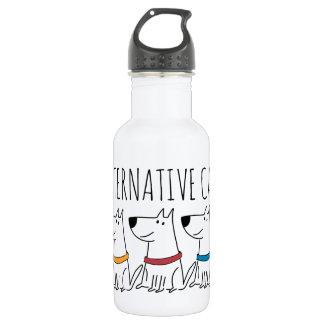 Alternative Cats Water Bottle (18 oz), White