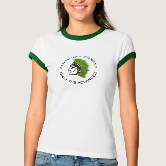 """Alternative Energies"" Fun shirt girl"