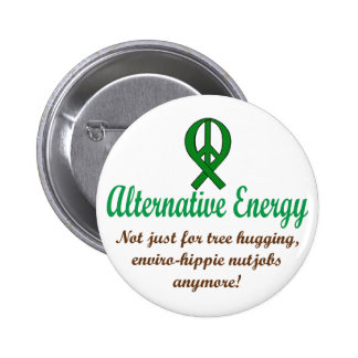 Alternative Energy 6 Cm Round Badge