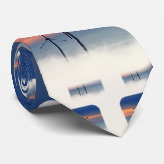 Alternative Energy - Wind Power in the Clouds Tie