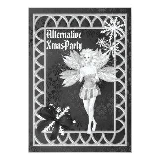 Alternative  Gothic fairy  Christmas 13 Cm X 18 Cm Invitation Card