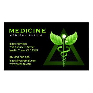 Alternative Medicine Business Caduceus Cards Pack Of Standard Business Cards