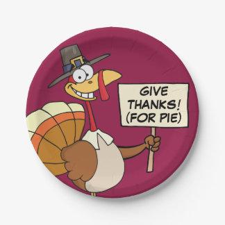 Alternatives to Turkey for Thanksgiving Dinner Paper Plate