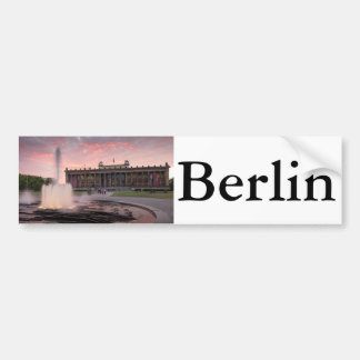 Altes Museum and Lustgarten in Berlin Bumper Sticker