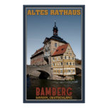Altes Rathaus - Old City Hall Posters