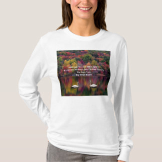 Although We Are Miles ApartIt's Always Mothers ... T-Shirt