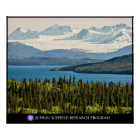 Altin Lake and the Juneau Icefield Poster