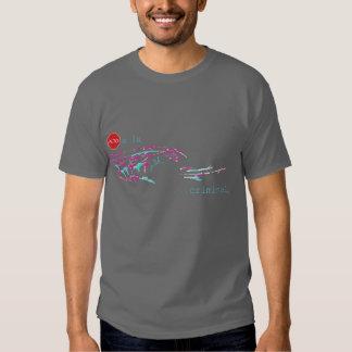 Alto a la Ola Criminal ! Shirts