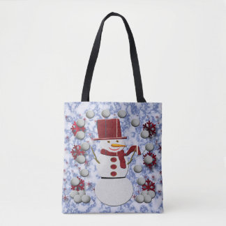Alto Cheerful Snowman Tote Bag
