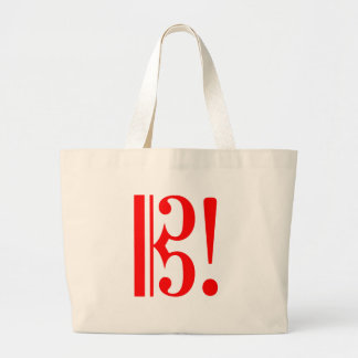 Alto Clef for Viola Players Large Tote Bag
