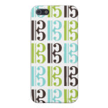 Alto Clef Pattern iPhone 5/5S Cases