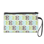 Alto Clef Pattern Wristlet Clutches