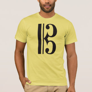 Alto Clef (Viola Shirt) by Leslie Harlow T-Shirt