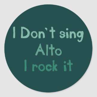 Alto Rock It Stickers