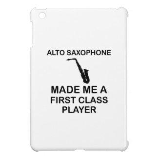 Alto saxophone design cover for the iPad mini