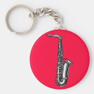 Alto Saxophone Key Ring